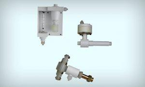 Como funciona um clorador Fluid Feeder?