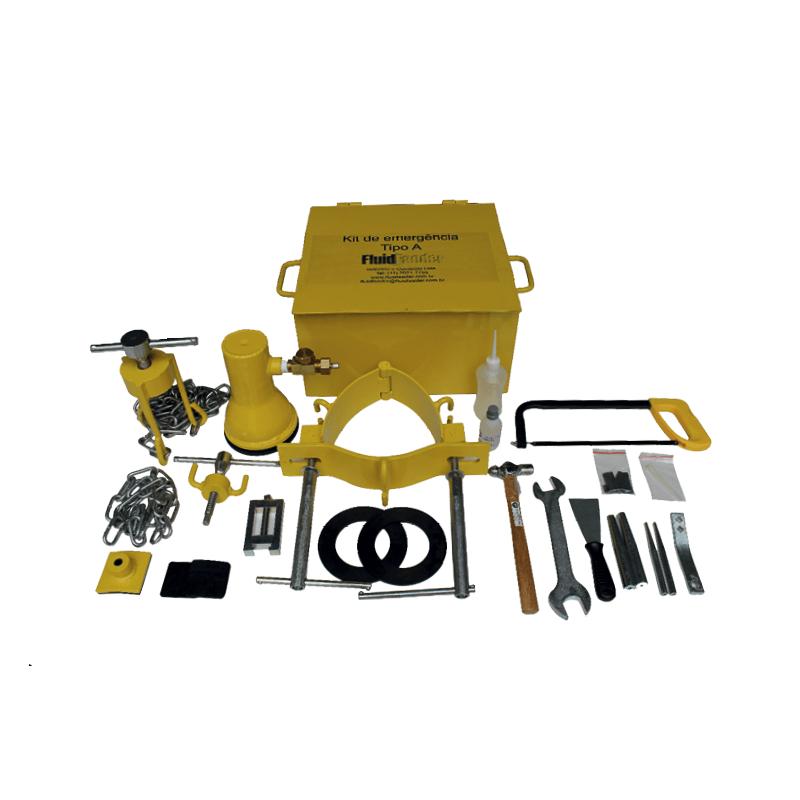 Kit de Emergência tipo A para Cilindro de Gás Cloro