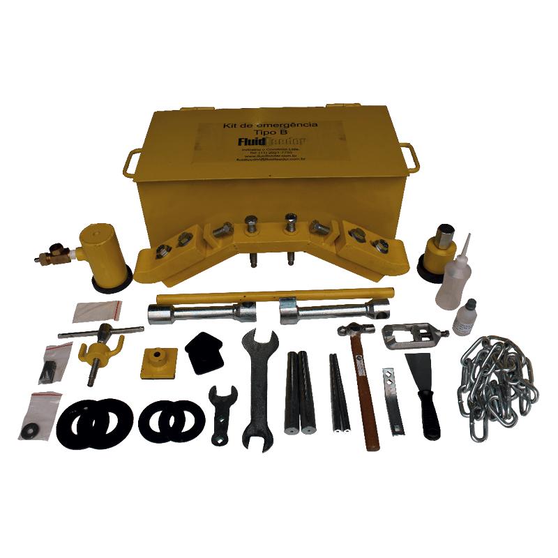 Kit de Emergência tipo B para Cilindro de Gás Cloro