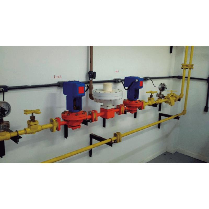Válvula Reguladora de Pressão e Vácuo Switchover Elétrica 3.000 lb/dia