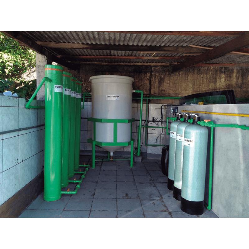 Sistema de Tratamento de Água para Reuso